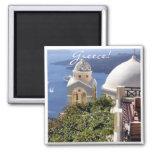 Santorini, Greece Magnets
