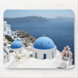 Santorini Greece Mouse Pad