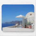 Santorini, Greece Mousepad