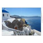 Santorini, Greece Note Card