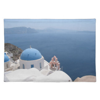 Santorini Greece Placemat