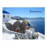 Santorini, Greece Post Card