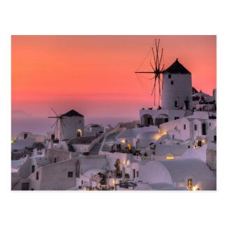 Santorini, Greece Postcard