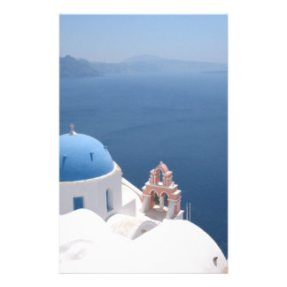 Santorini Greece Stationery