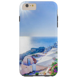 Santorini Greece Tough iPhone 6 Plus Case