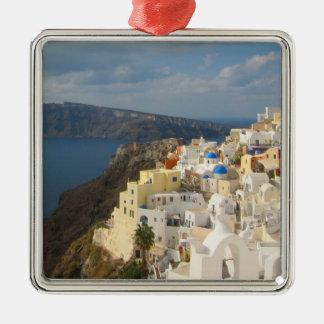 Santorini in the Afternoon Sun Christmas Ornament