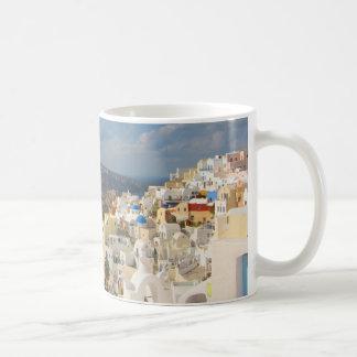 Santorini in the Afternoon Sun Coffee Mug