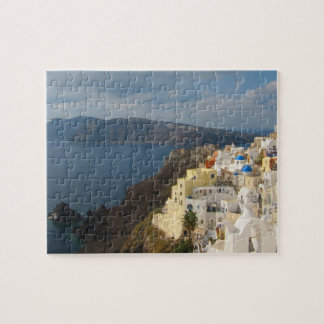 Santorini in the Afternoon Sun Jigsaw Puzzle