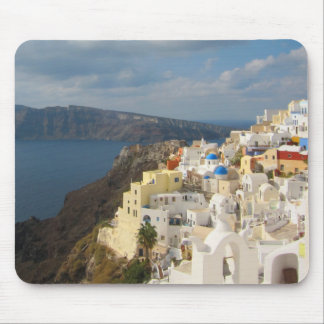 Santorini in the Afternoon Sun Mouse Mat