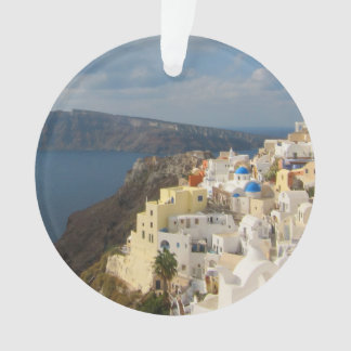 Santorini in the Afternoon Sun Ornament