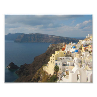 Santorini in the Afternoon Sun Photographic Print