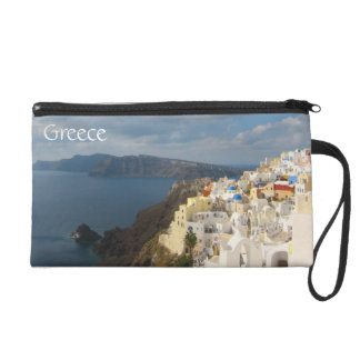 Santorini in the Afternoon Sun Wristlet