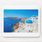 Santorini Island - Caldera, Greece Mouse Mat