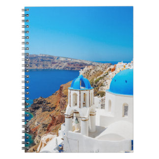 Santorini Island - Caldera, Greece Notebook