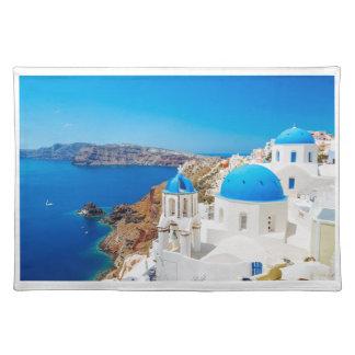 Santorini Island - Caldera, Greece Placemat