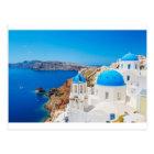 Santorini Island - Caldera, Greece Postcard