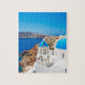 Santorini Island - Caldera, Greece Puzzles