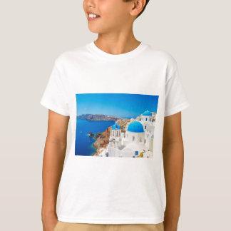Santorini Island - Caldera, Greece T-Shirt