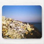 Santorini Island Fira Greece Mousepad Gift