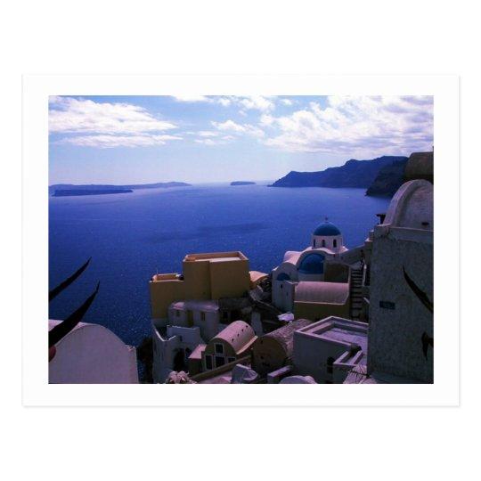 Santorini Island Greece Photo Colette ( CHG) Postcard