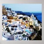 Santorini Island in Greece PHOTO Poster