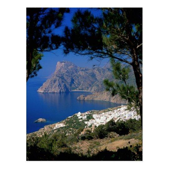Santorini Island Postcard