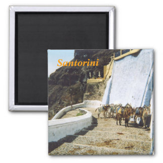 Santorini kitchen magnet