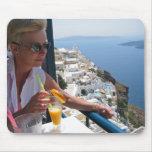 Santorini - Mousepad