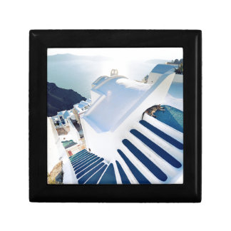 Santorini Oia Steps, Greece Gift Box