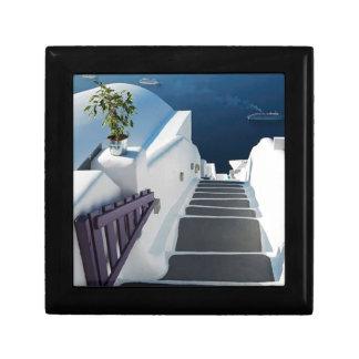 Santorini Oia Steps, Greece Gift Box