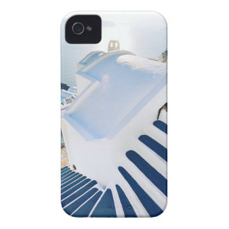 Santorini Oia Steps, Greece iPhone 4 Cover