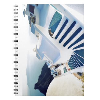 Santorini Oia Steps, Greece Notebook