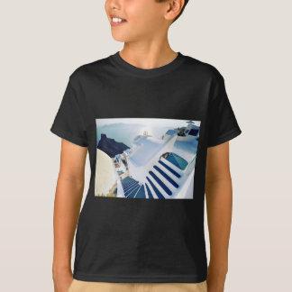 Santorini Oia Steps, Greece T-Shirt
