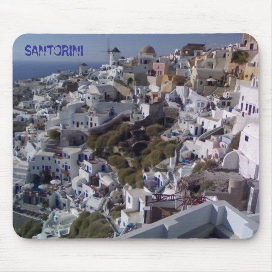 SANTORINI VIEW MOUSEPAD