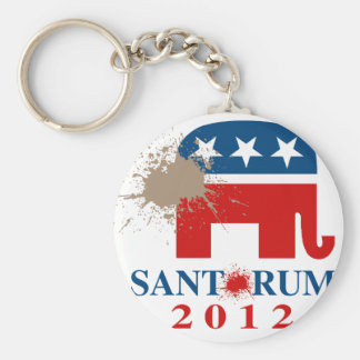 Santorum 2012 key chain
