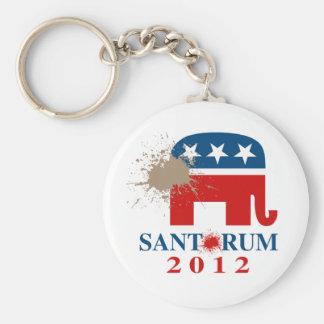 Santorum 2012 key chains