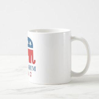 Santorum 2012 coffee mugs