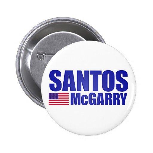 Santos McGarry Buttons