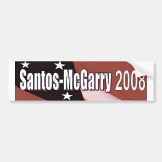 Santos McGarry in 2008 Bumper Sticker