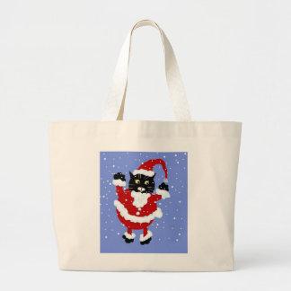 Santy Cat Tote Bag