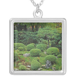 Sanzen-in Temple, Ohara, Kyoto, Japan 3 Silver Plated Necklace