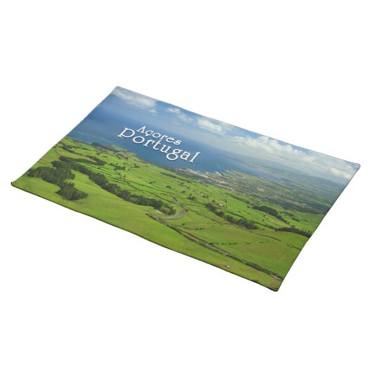 Sao Miguel green landscape Placemats
