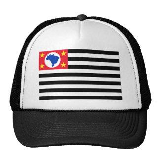 São Paulo, Brazil Flag Cap