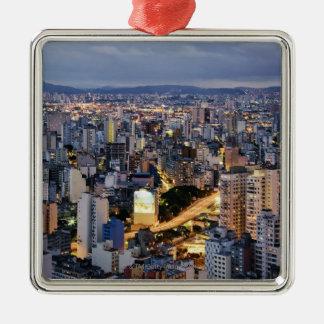 Sao Paulo Cityscape 2 Christmas Ornament