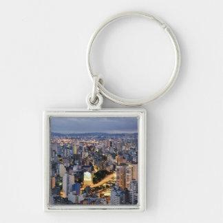 Sao Paulo Cityscape 2 Key Chain