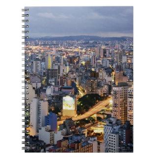 Sao Paulo Cityscape 2 Note Book