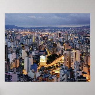 Sao Paulo Cityscape 2 Poster