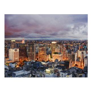 Sao Paulo Cityscape Postcard