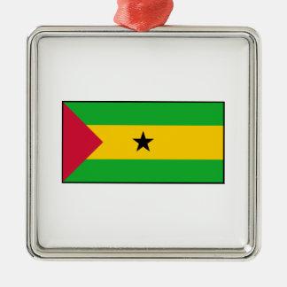 Sao Tome and Principe Flag Ornament