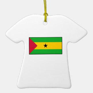 Sao Tome and Principe Flag Ornaments